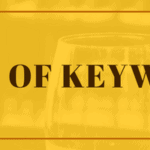 This is image of Types of Keywords